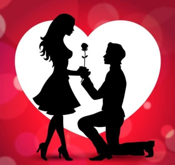 Como declararse a una mujer que te gusta de forma romantica