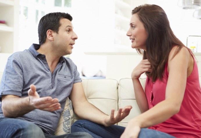 Habla con tu esposo marido o esposa manteniendo el foco