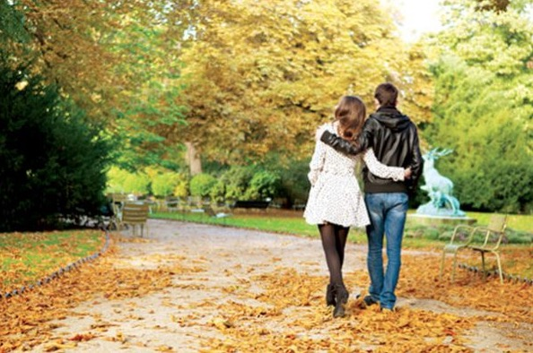 paseo romantico