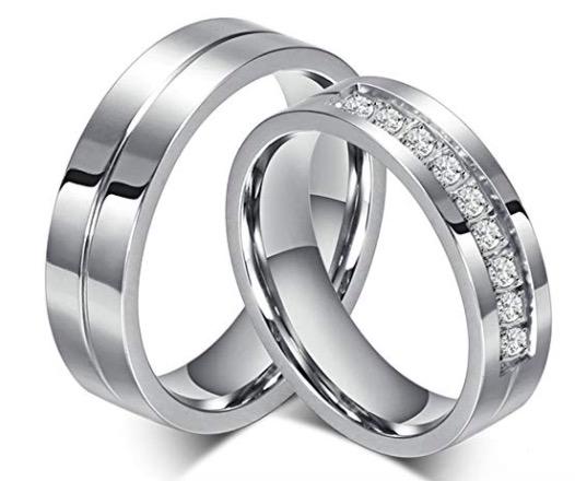 unos anillos para volverla loca de amor